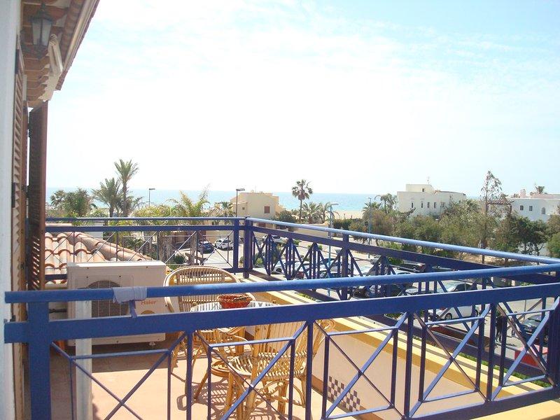 Atico Veramar 5,1º linea de playa, holiday rental in Vera