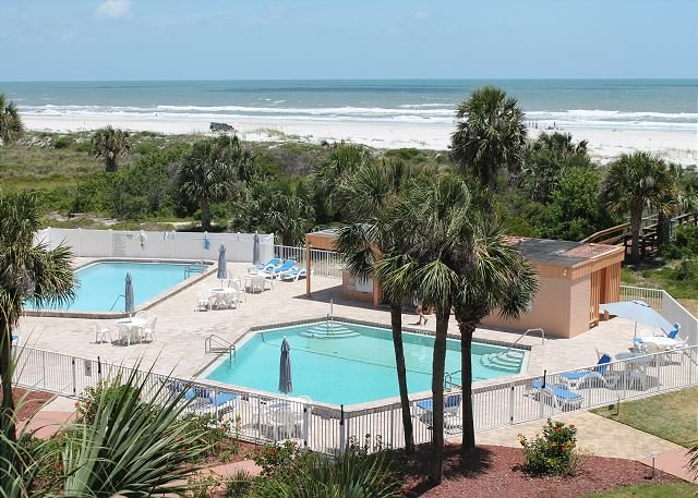 St Augustine Beach And Tennis 405 Steps To 2 Pools Wifi