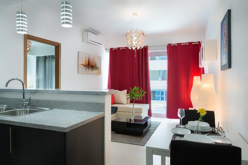 Executive Deluxe 70mt2 Apartment, aluguéis de temporada em Santo Domingo