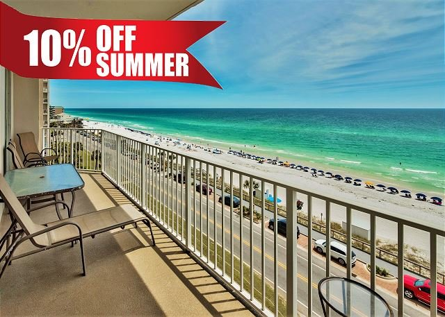 Majestic Sun 604B - Private Balcony with Great Gulf Views