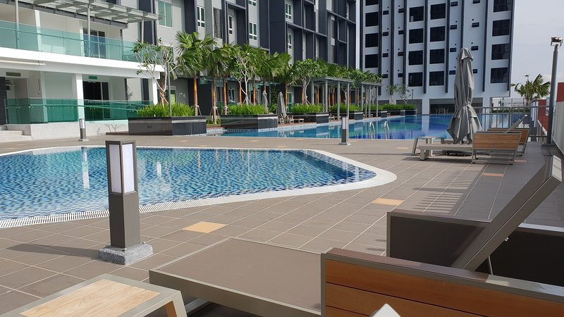 Pool area - Perfect spot to rest and relax after a long day.