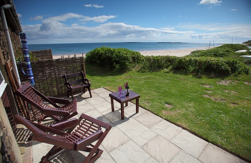 Relax in a sun lounger and enjoy the beautiful views