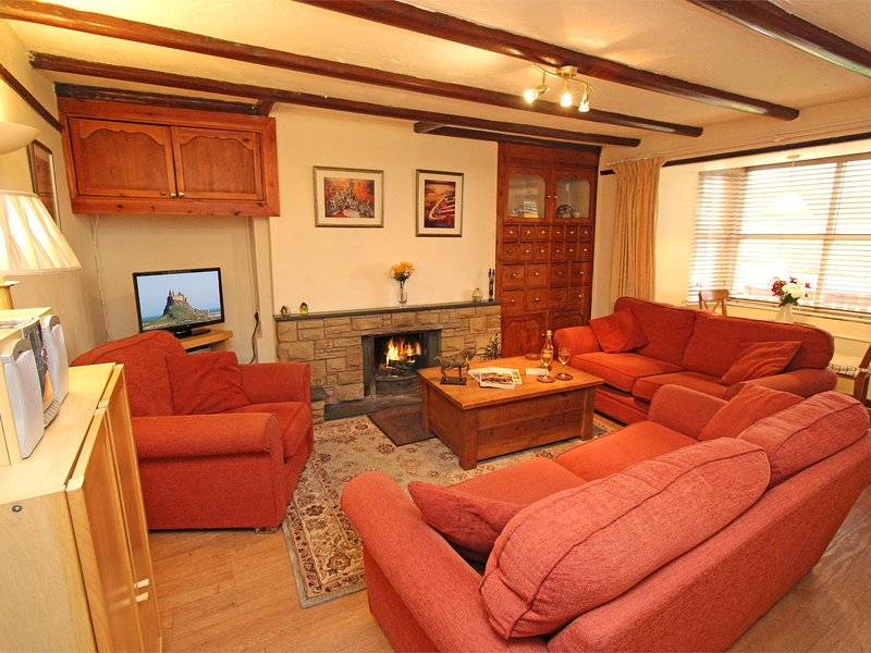 Relax in the comfortable and cosy lounge