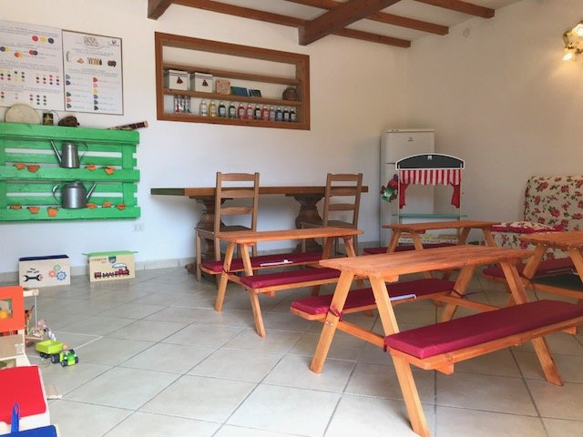 MULTI-PURPOSE ROOM in which are held summer camps for the little ones