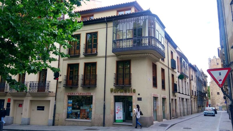 Beautiful studio with balcony, holiday rental in Roscales de la Pena
