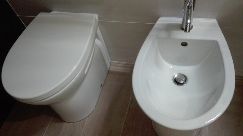 WC et bidet Orange Room
