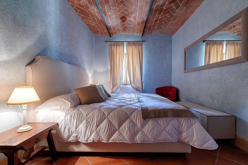 Casa Tolomei (Castello di Bossi) App. VIRGILIO, alquiler de vacaciones en Casanova Pansarine