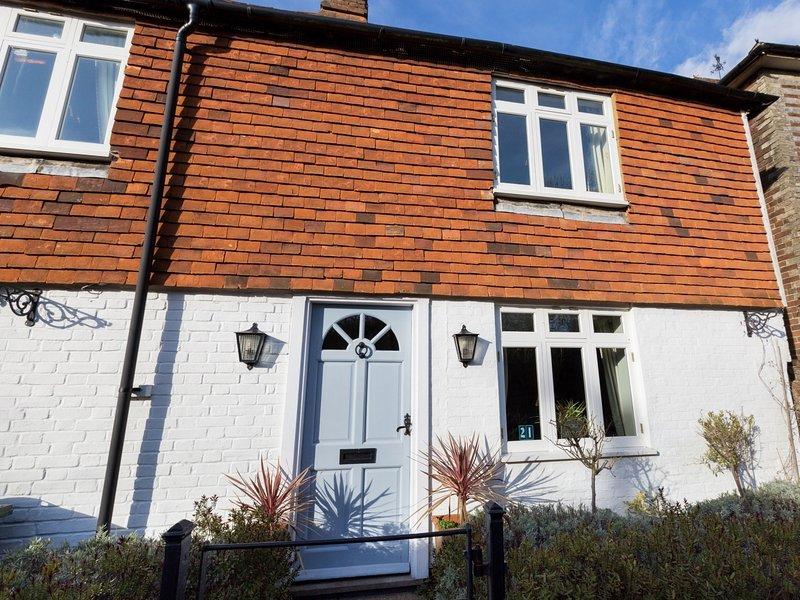 Stylishly furnished cottage with idyllic gardens
