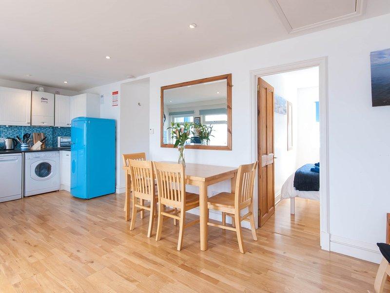 Spacious open-plan living area