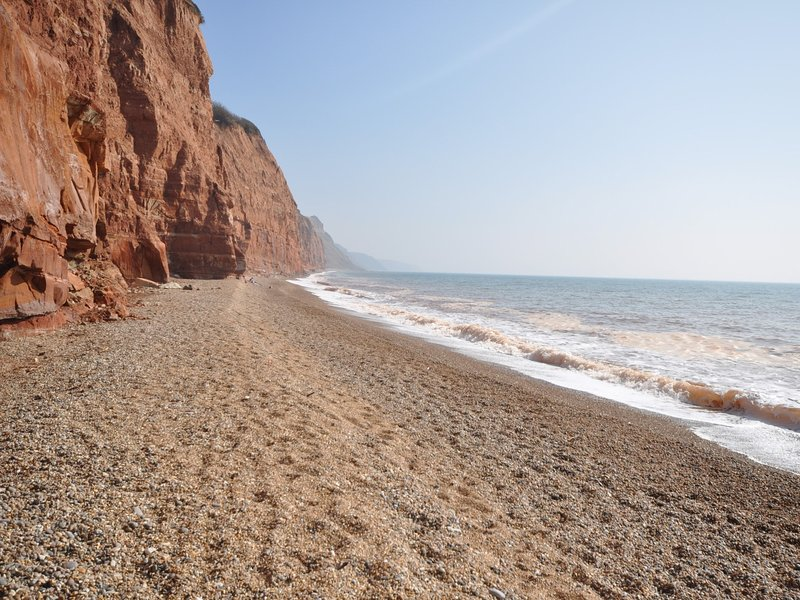 Nearby Sidmouth beach