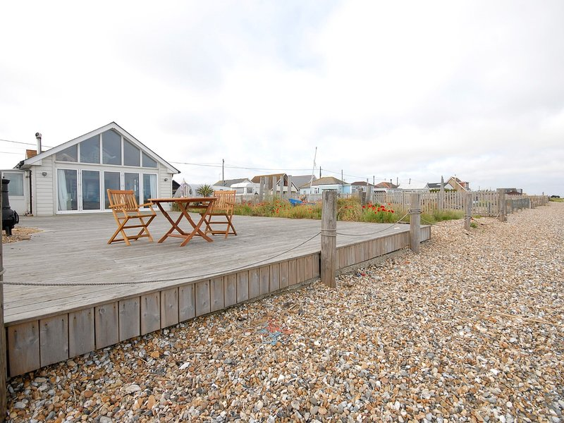 View towards the property from Seasalter Beach