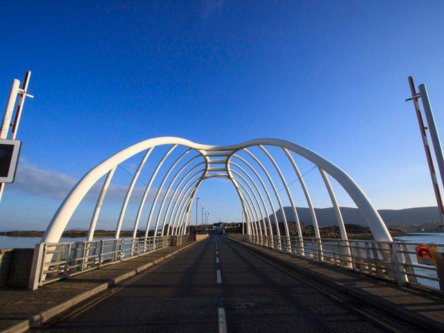 Achill bridge.