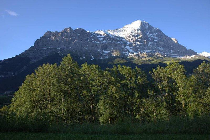 El Eiger en verano