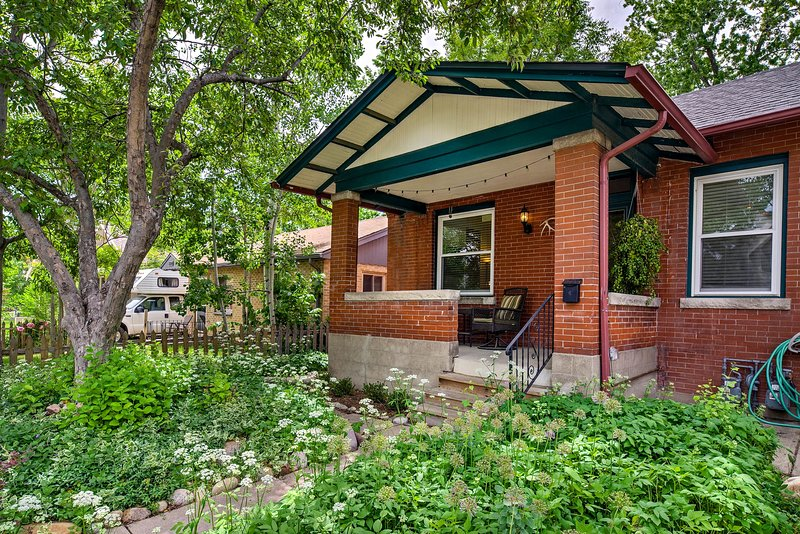 The 1,500-square-foot-home was built in 1910 and recently renovated.