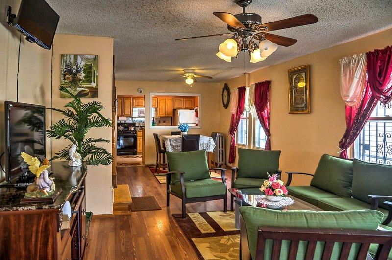Disfrutar de lo mejor de la ciudad de Nueva York de esta casa de Jamaica situado!