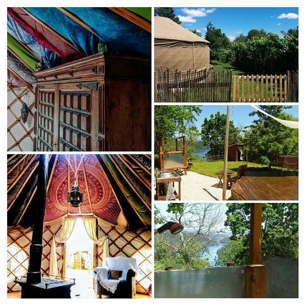 Dragonfly Yurt, holiday rental in Serta