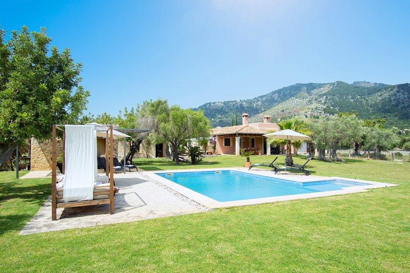 CASA EN MOSCARI - Villa for 8 people in Binibona - Selva, casa vacanza a Caimari