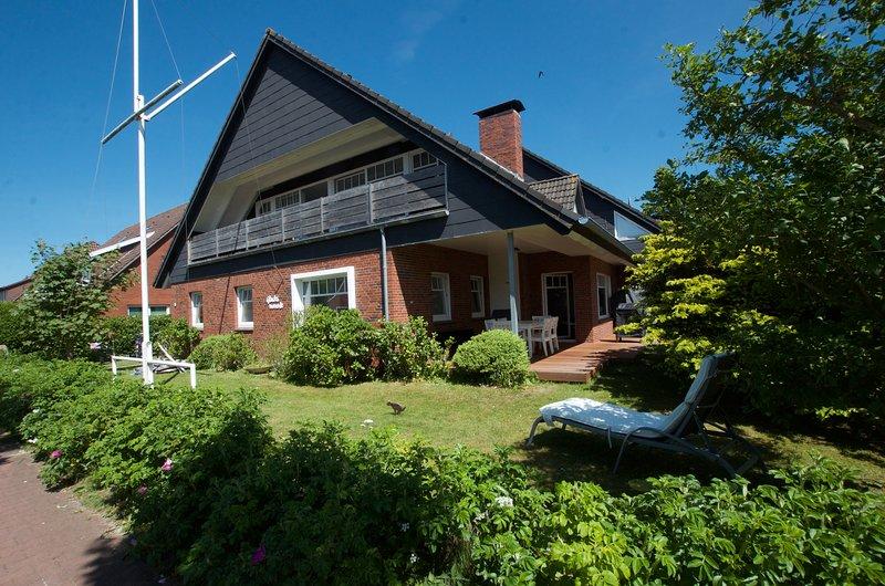 Residenz Glücksmomente: Wohnung 2:  'Sonne auf der Haut', holiday rental in Langeoog