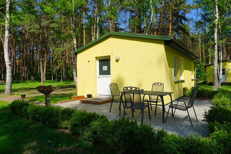 Din egen lilla bungalow mitt i Spreewald