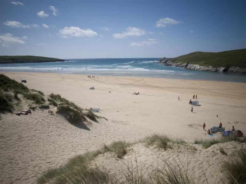 Crantock beach