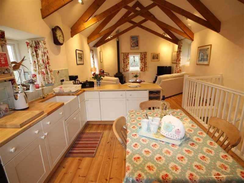 Open plan living accommodation