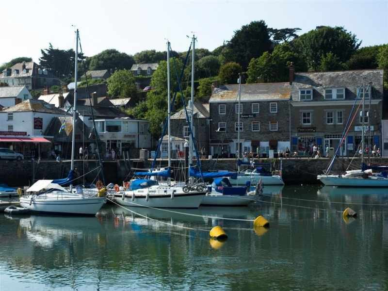 Padstow harbour 9 miles