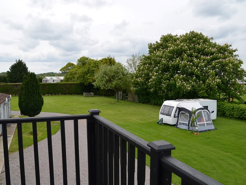 Please note that the views do take in a small part of the very small touring park