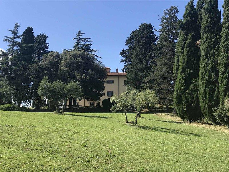 Villa Di Montegemoli, vakantiewoning in Pomarance