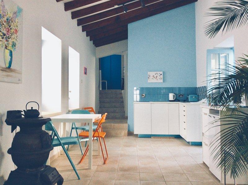 Traditional fused with contemporary. Iaso Suite Dalla's Cyprus Retreat, Maroni Village, Larnaca Cy.