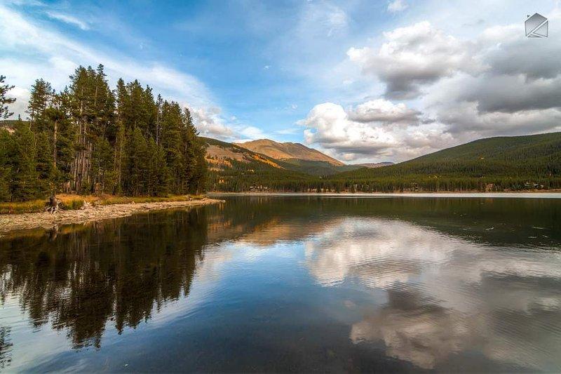 Genießen Sie die landschaftliche Schönheit von Breckenridge.