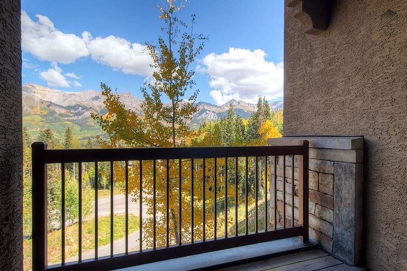 The deck has been known to inspire all types of mountain activities.