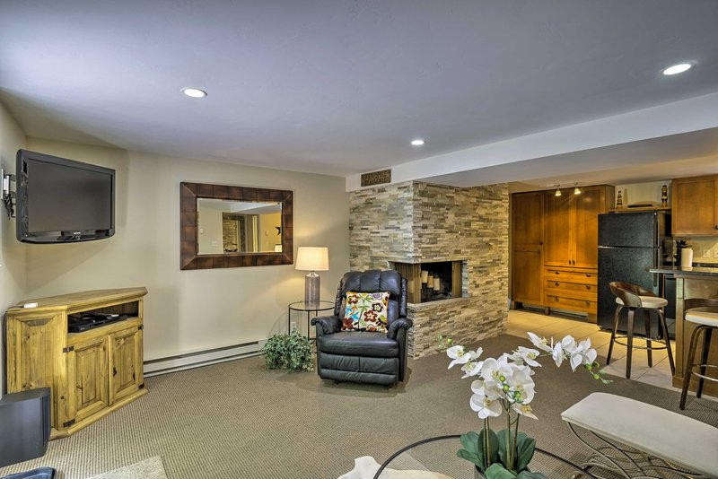 Mountainside Apt, Walk to Gondola & Downtown Aspen Chalet in Aspen