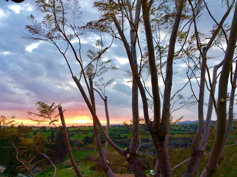 Maroni sunset. From Cyprus's Retreat, village Maroni, Larnaca Cyprus.