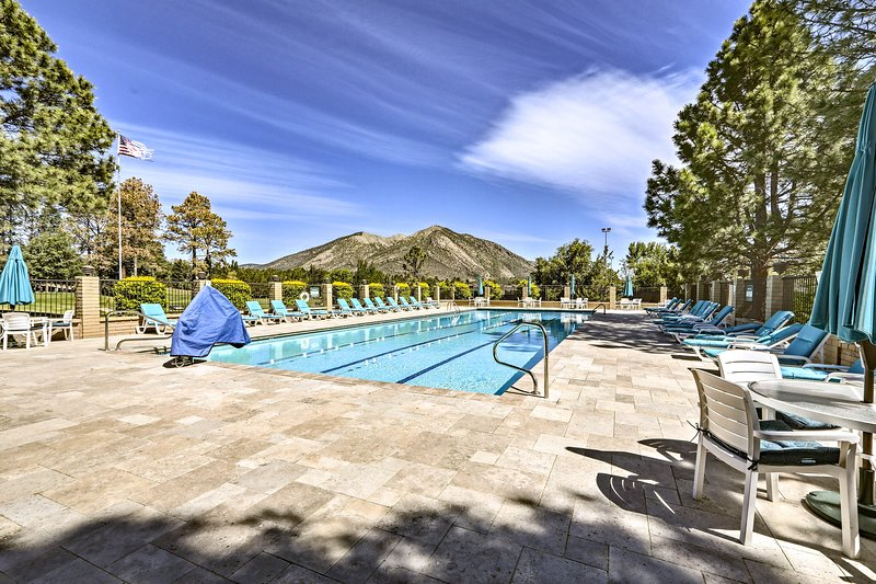 Beat the heat and jump in the community pool!