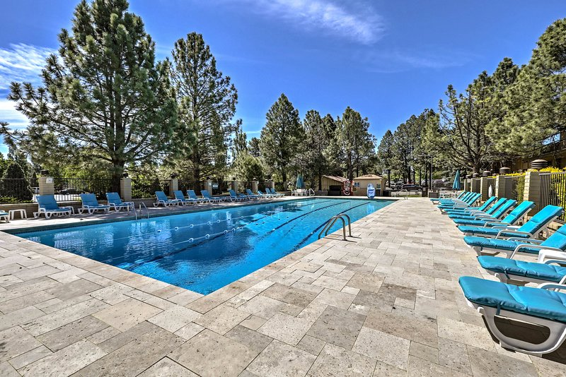 Catch some sun as you lounge by the pool.