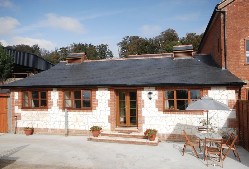 A converted barn situated in a lovely rural retreat