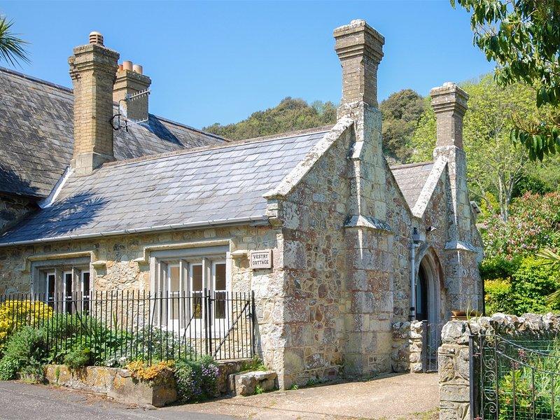 Vue vers ce charmant cottage