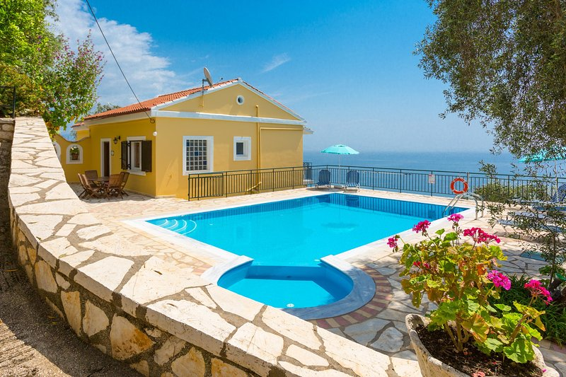 Beautiful villa with private pool, terrace, and panoramic views