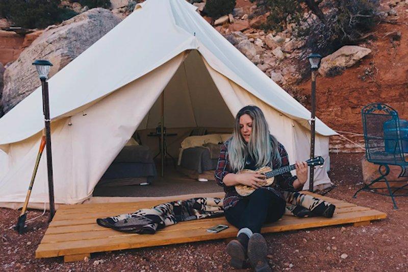 Zion Glamping Adventures -Tent 5, aluguéis de temporada em Colorado City