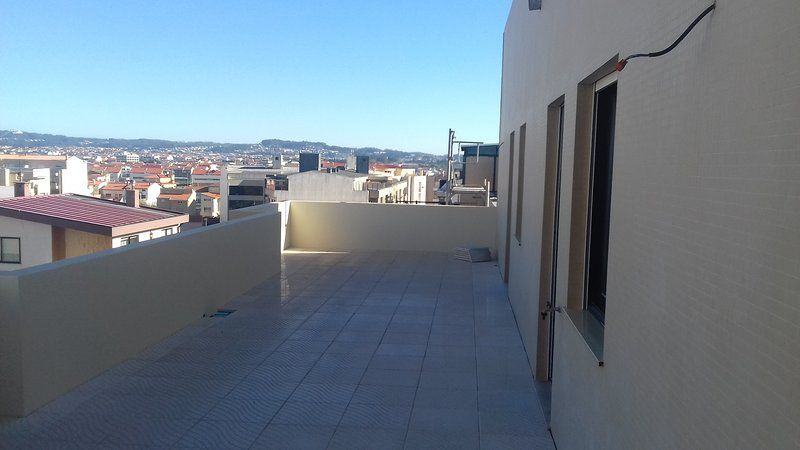 Beautiful apt with sea view, holiday rental in Laundos