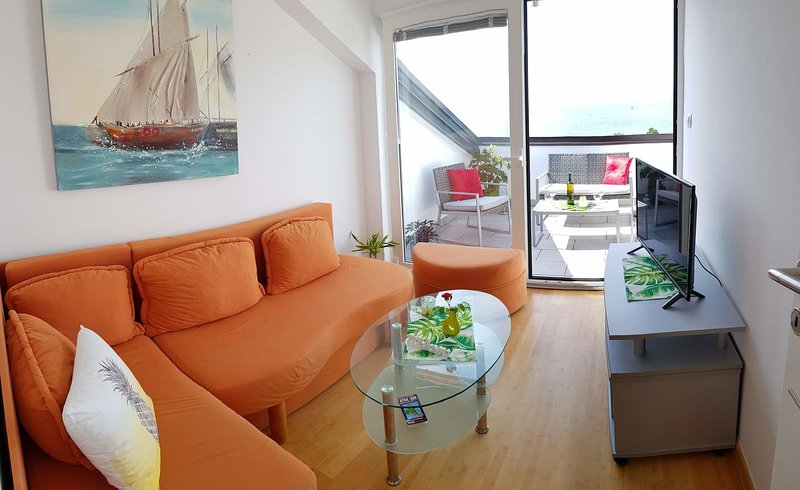 Living room 1, Surface: 8 m²