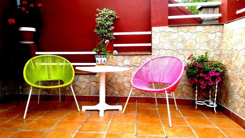 Rincón de terraza.
