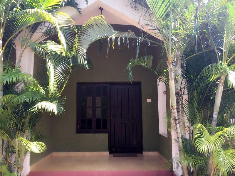 Beautiful 3 bedroom Anjuna Villa, holiday rental in Chapora