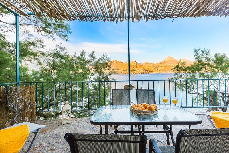 Eco Cottage Haus, ein Haus am Meer in der Nähe Damnoni, Süd-Kreta!