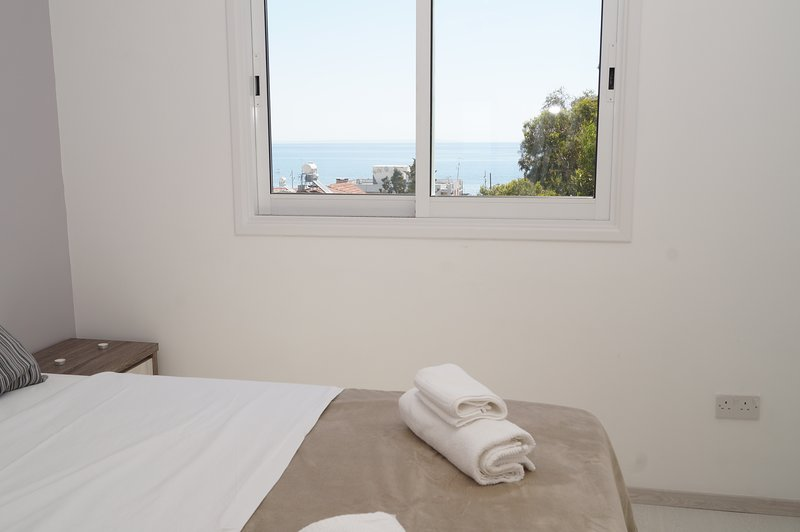 Sea view delight from your bedroom