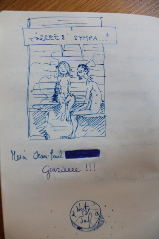 Sample guest book