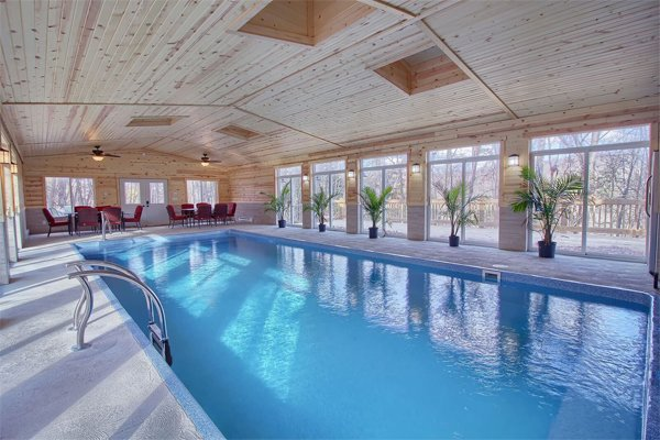 High Point Lodge with Indoor Saltwater Pool in the Hocking