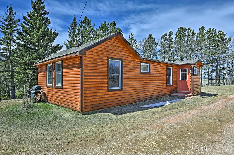 'Eagle's View Cabin' 5 Miles to Deerfield Lake!, vacation rental in Hill City