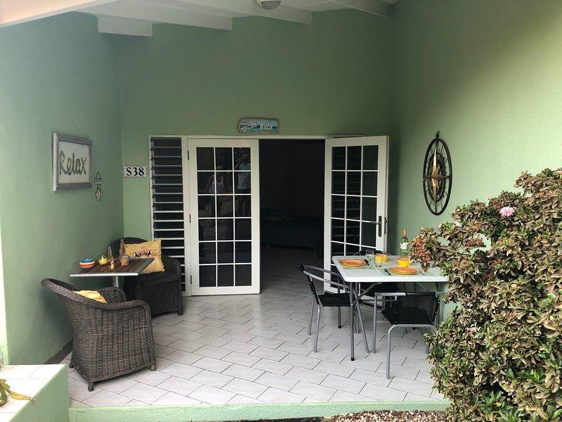 Vakantiestudio 'Dushi Bida' op Seru Coral Resort Curacao, location de vacances à Santa Catharina
