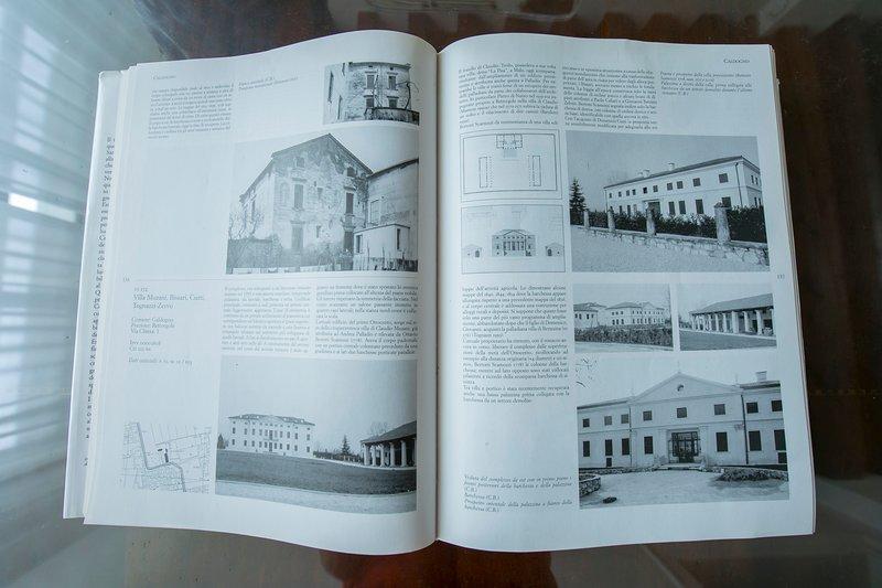La descrizione di Villa Solatia nel libro sui palazzi di Ventiano